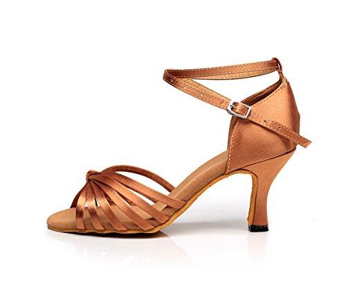 Minitoo , Salle de bal femme Bronze-7.5cm Heel