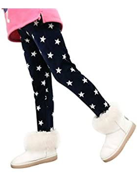 Muchachas de las polainas de los pantalones de los niños, RETUROM new design Winter Girls Leggings Thick Warm...