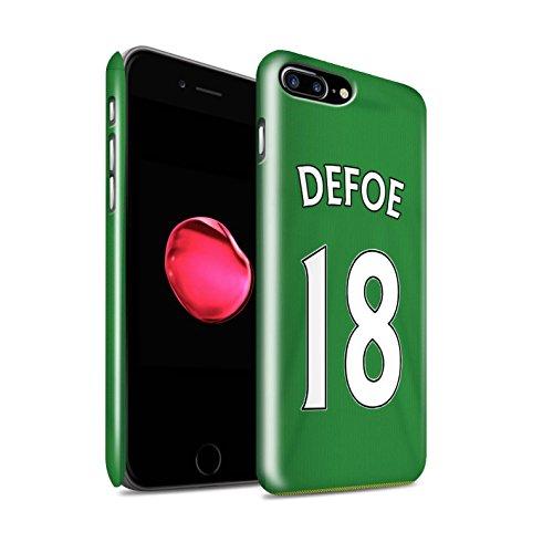 Offiziell Sunderland AFC Hülle / Glanz Snap-On Case für Apple iPhone 7 Plus / Kirchhoff Muster / SAFC Trikot Away 15/16 Kollektion Defoe
