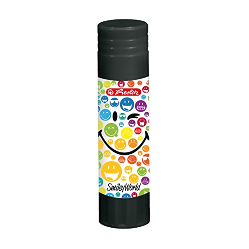 Herlitz 50002122 Klebestift Smiley World, lösungsmittelfrei, 21 g