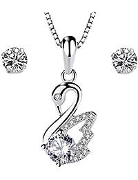 7682b081f8f01 Amazon.co.uk: Cubic Zirconia - Jewellery Sets / Women: Jewellery