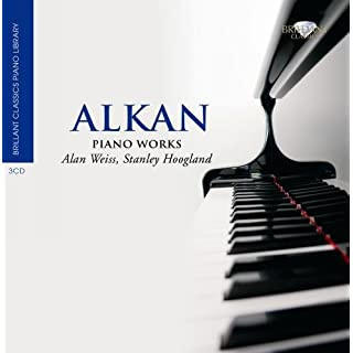 Brilliant Classics Piano Library - Alkan: Piano Works