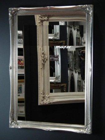 Plateado-espejo-Classic-diseo-con-texto-en-3ft-4-x-2-FT4