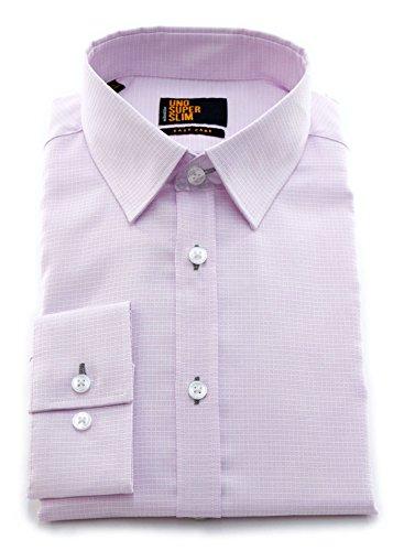 Seidensticker -  Camicia classiche  - A quadri - Classico  - Uomo Rosa