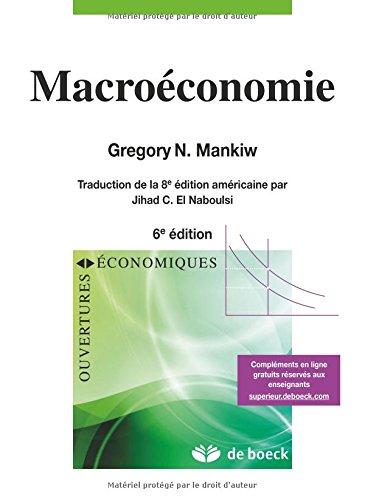 Macroéconomie par Gregory Mankiw