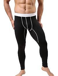 Rawdah Leggings Chauds d automne Hiver en Coton Homme sous-Vêtements De  Chauds De Coton De Pantalon De Legging De Sweatpants… c5d89b89b95