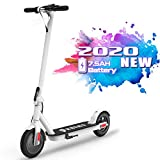 Elektro Scooter ,Klappbar Elektroscooter Erwachsene Bis 25 km/h E Roller Mit 30 km Reichweite,Vorderen und Hinteren Rückleuchten, 250 Watt Motor City Roller, bis zu 120kg Belastbar,2 Fach Bremssysstem