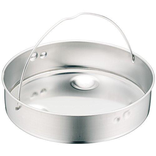 WMF Schnellkochtopf Einsatz, Dünsteinsatz, ungelocht, für Ø 20 cm, Cromargan Edelstahl, spülmaschinengeeignet