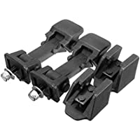 2pcs Bajar el capó del Motor de Bloqueo asegura la Hebilla del Titular Durable reemplazo de la Capilla de Bloqueo para Jeep Wrangler 97-06 de Accesorios del Coche