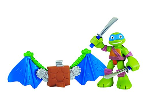 Teenage Mutant Ninja Turtles Pre-Cool Half Shell Leo with Glider Wings Figure