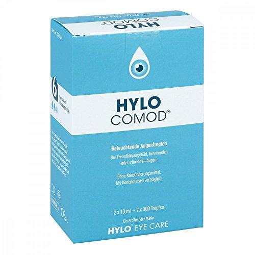 HYLO-COMOD Augentropfen 2X10 ml
