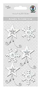 Ursus 564000169creativos Accesorios Estrella Blanco/Plata