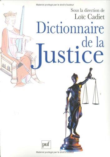 Dictionnaire de la Justice