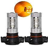 PSY24W ámbar naranja bombillas LED luces indicadores LED CREE Canbus Xenon ea6l5