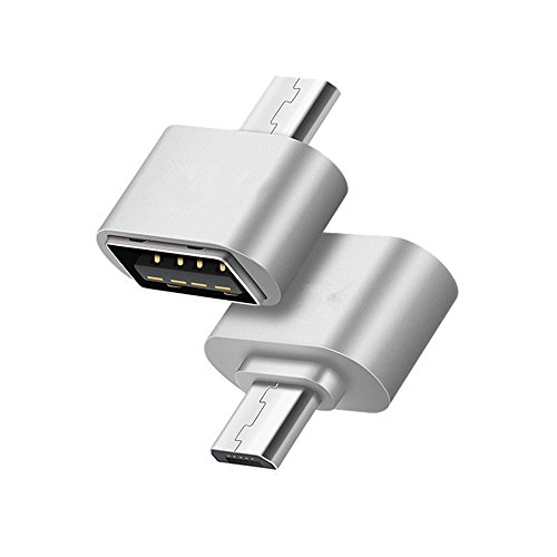 Hosaire 2X USB to Micro Adapter Kreative Micro USB zu USB OTG Adapter USB 2.0 Stecker Mini OTG