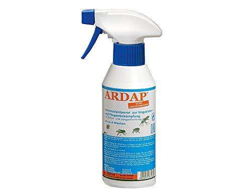 Quiko ARDAP Zerstäuber, Wirkungsvolles Insektizid gegen Fliegen, Schädlinge oder Lästlinge, Pumpspray für Zuhause oder in unmittelbarer Nähe von Tieren, 1 x 250 ml