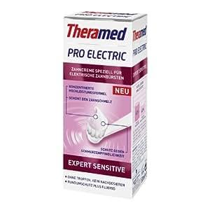 Theramed par Expert électrique Sensitive 50ml / dentifrice / dentifrice / pour brosses à dents électriques