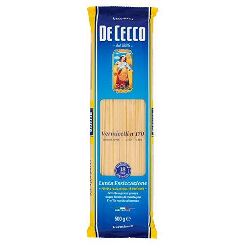 De Cecco Vermicelli Pasta di Semola di Grano Duro - 500 gr