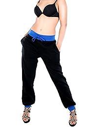 Bas de jogging femme bi color