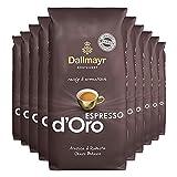10x DALLMAYR Espresso d' Oro (ganze Bohnen / 1000g)