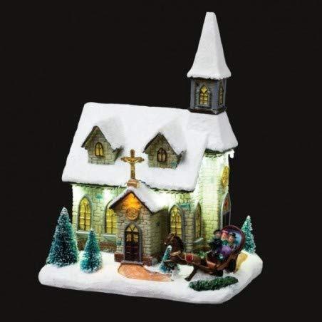 Féérie Lights & Christmas Eglise de Noël Lumineuse