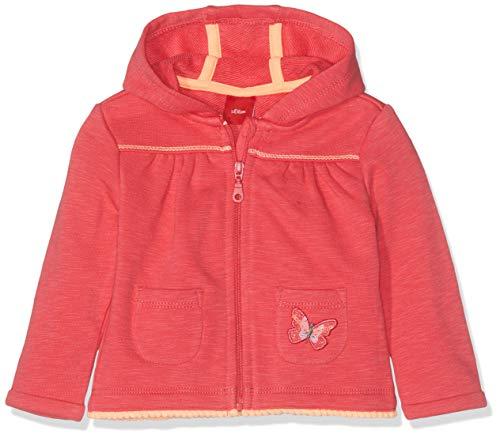 s.Oliver Baby-Mädchen 65.904.43.3399 Sweatjacke, Rot (Pink 4517), Herstellergröße: 80