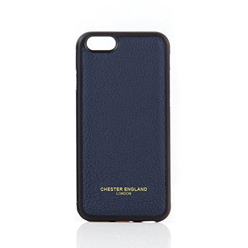 iPhone 6Case-Premium Echt Leder Snap on Case für Apple iPhone 6von Chester England: Chester blau. Moderne, Stilvolle und Elegante. - Home-gesundheit-taschen