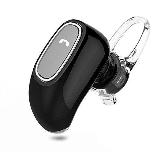 thanly Super Mini auricolare Bluetooth V4.1Wireless Vivavoce Stereo Auricolare Auricolari Auricolari con Microfono HD invisibile per iPhone 5S 66S Plus, Samsung S4S5S6S7LG G2G3Blackberry etc