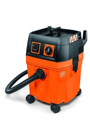 Fein Dustex 35L, Nass-/Trockensauger, 70L/s Volumenstrom, 253 mbar Unterdruck, Geringe Lautstärke, Autostart-Steckdose, Zulassung für Staubklasse L, Große Reichweite, optimale Wendigkeit