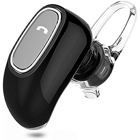 thanly Super Mini V4.1estéreo inalámbrico de auriculares Bluetooth manos libres auricular invisible auriculares Earbud auricular con micrófono hd para iphone 5S 66S Plus Samsung S4S5S6S7LG G2G3Blackberry