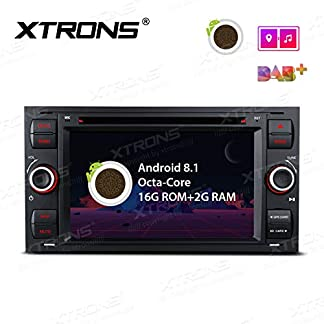 XTRONS-7-Auto-Touchscreen-Autoradio-Auto-DVD-Player-mit-Android-81-Octa-Core-Multimedia-Player-unterstzt-4K-Video-WiFi-4G-Bluetooth50-2GB-RAM-16GB-ROM-DAB-OBD2-FR-Ford