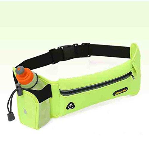 Taille Tasche Sport Wasserflasche Multifunktionale Laufen Draußen Reise Mobile Pocket 4