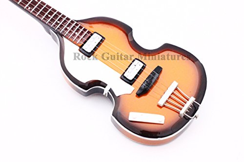 rgm07Paul McCartney-Beatles-Miniatur-Gitarre Paulas Pick