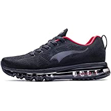 huge selection of 68578 4bea5 ONEMIX Running Chaussure Hommes 3D Knit Coussin d air Léger pour La Marche  Gym Fitness
