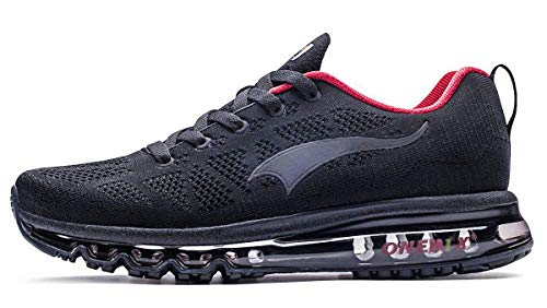 new arrival 65ca4 16f69 ONEMIX Chaussures de Running pour Hommes Léger Coussin d air Cushion  Outdoor Sport Trainer Sneaker