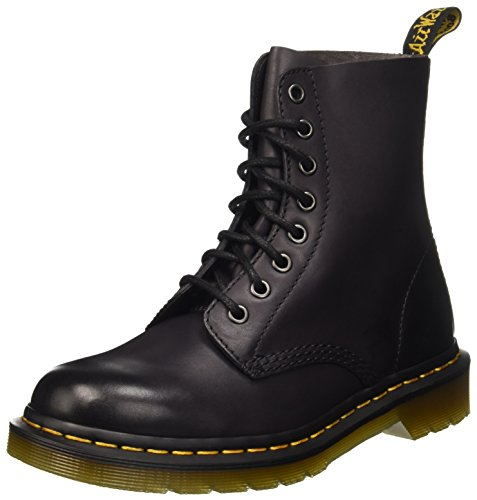 Dr. Martens Pascal Temperley, Scarpe a Collo Alto Donna Grigio (Charcoal Antique Temperley)