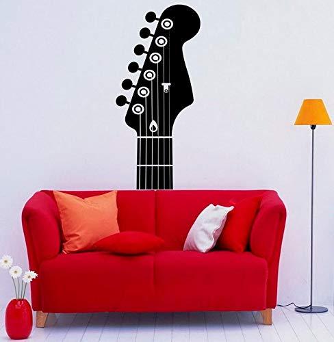 CECILIAPATER Wandaufkleber, Wandaufkleber, Vinyl, Musikinstrument für Zuhause, Innenraum, abnehmbar, Schlafzimmer-Dekor (3 g)