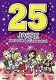 Archie Geburtstagskarte zum 25. Geburtstag Junge Mädchen lila Glückwunschkarte Kinder