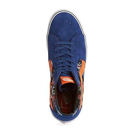 Vans U Sk8-hi (Suede/inca) Tr, basket mixte adulte - Blue - Blau ((Suede/Inca) true blue)