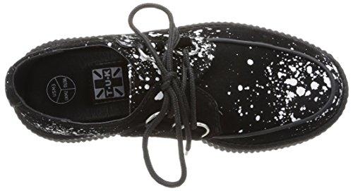 T.U.K.  Viva Mondo Creepers,  Sneaker Unisex - Adulto Nero (nero)