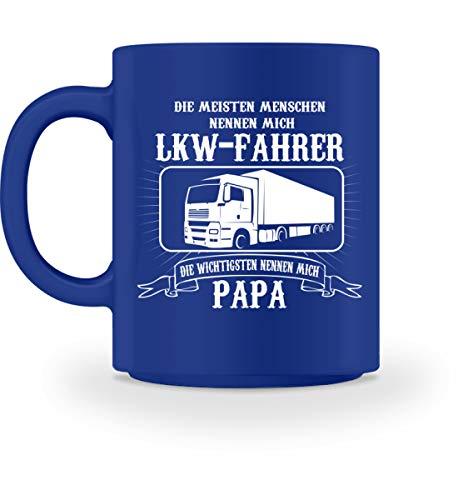 Lastwagen Kaffeetasse · Trucker · Geschenk für LKW-Fahrer · Spruch: LKW Fahrer und Papa - Tasse...