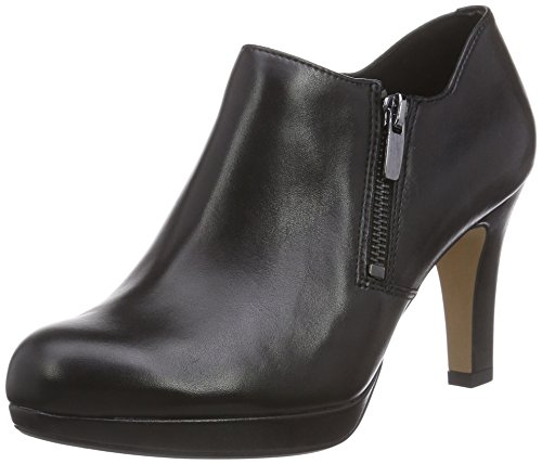 Clarks Amos Kendra Damen Pumps Schwarz (Black Leather)