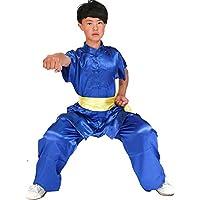 Uniforme infantil ZooBoo para Kung Fu, Tai Chi y artes marciales, azul real