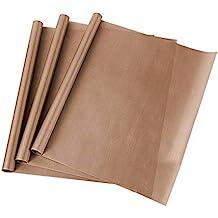 6 x 20  Hitzebest/ändiges Bastelblatt 100/% Antihaft sch/ützt Eisen und Arbeitsbereich 6 PACK ARTISTORE 3 FARBEN PTFE Teflonbl/ätter f/ür Transferpressen