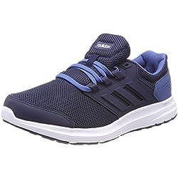 Adidas Galaxy 4 m, Zapatillas de Entrenamiento para Hombre, Azul (Collegiate Navy/Collegiate Navy/Ash Blue 0), 48 EU