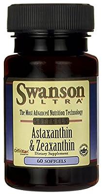 Swanson Ultra Astaxanthin & Zeaxanthin (60 Softgels)