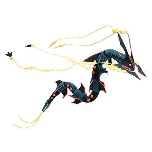 Pokemon Center Japan 81,3cm schwarz glänzend Mega Rayquaza gefüllt Plüsch (Mega-pokemon Plüschtiere)