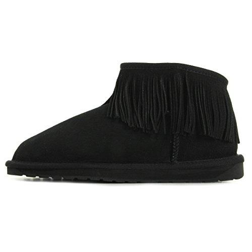 EMU Australia Waterfall Noir W11257BLK, Boots