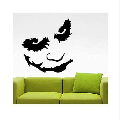 (Wandaufkleber Joker Wandtattoo Vinyl Aufkleber Comics Superhelden Art Boys Zimmer Schlafzimmer Dekor 42X45cm)