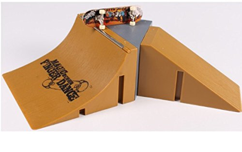 ZJL220 Skate Park Kit Ramp Set Set per Tech Deck Finger Board 03